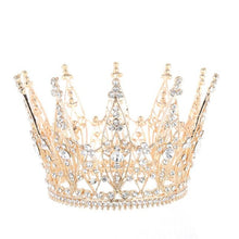 Load image into Gallery viewer, Cosplay Queen Diadem Headdress Halloween Carnival Masquerade Party Costume Props