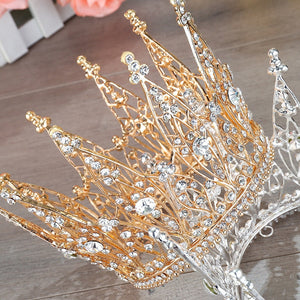 Cosplay Queen Diadem Headdress Halloween Carnival Masquerade Party Costume Props