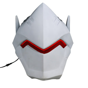 Game  Watch Genji  Helmet  Cosplay  PVC Helmet Halloween Carnival Party Prop