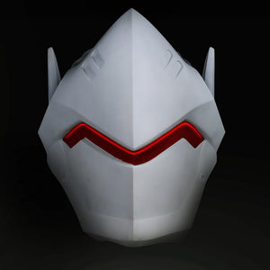 Game OW Over Watch Genji  Helmet  Cosplay  PVC Helmet Halloween Carnival Party Prop