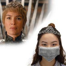 Load image into Gallery viewer, Game of Thrones Cosplay Cersei Lannister Crown Headbands Headgear Halloween Costume Jewelry Props