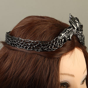 Game of Thrones Sansa Stark Crown Headbands Halloween Costume Metal Accessories Adult Woman Prop
