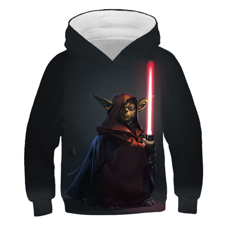 Star Wars hoodies kids Sweatshirts Cosplay Children's Costumes