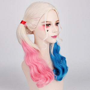 Harley Quinn Solid Wood Baseball Suicide Squad Wooden Baseball Bat Wig Cosplay Prop
