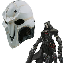 Load image into Gallery viewer, High Quality Game helmet PVC Cosplay Reaper  Helmet Halloween Reaper Party helmet