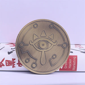 Hot Game The Legend of Zelda Cosplay Breath of the  Special Collectible Coin Halloween Party