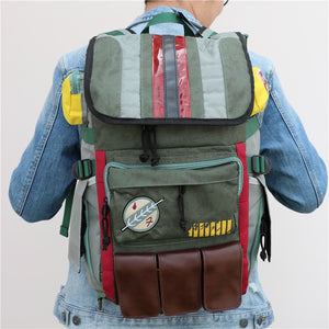 Movies Star Wars Backpack Boba Fett Mandalorian Armor Backpack
