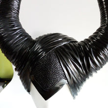 Load image into Gallery viewer, Maleficent Cosplay Angelina Jolie Latex Horns Hat