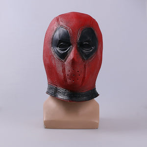 Marvel Deadpool helmet Halloween Cosplay Costume Props Superhero Movie Latex helmet Collectible Toys Party