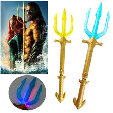 Load image into Gallery viewer, Movie Aquaman Arthur Curry/Orin Cosplay Child acousto-optic Trident LED Toy Prop