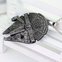 Load image into Gallery viewer, Movie Star Wars Necklace Falcon Darth Vader Metal Alloy Pendant Necklace