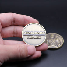Load image into Gallery viewer, Movies Star Wars The Rise of Skywalker Mandalorian Commemorative Coin Cosplay Christmas Halloween Prop