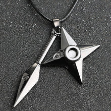 Load image into Gallery viewer, Anime Naruto Dart Weapon Necklace Cosplay Props