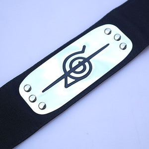 Anime Naruto Kakashi Konoha Headband Cosplay Halloween Costumes Accessories