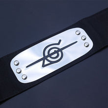 Load image into Gallery viewer, Anime Naruto Kakashi Konoha Headband Cosplay Halloween Costumes Accessories