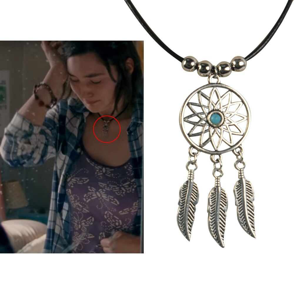Fall capture dream necklace pendant, Cosplay accessories metal props
