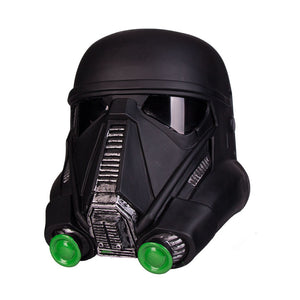 Star Wars  Death Trooper PVC Helmet  Force Awakens Rubies Deluxe Helmet Halloween prop
