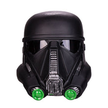 Load image into Gallery viewer, Star Wars  Death Trooper PVC Helmet  Force Awakens Rubies Deluxe Helmet Halloween prop