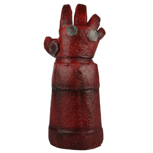 New Movie Hellboy: Rise of the Blood Queen Glove Right Hand Cosplay Gloves Armor Latex Hand Gauntlet Party Halloween