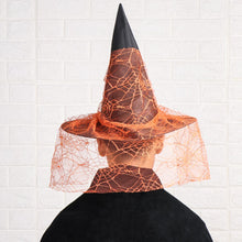Load image into Gallery viewer, Wizard Hat Cosplay Halloween Party Hats