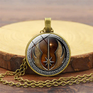 Star Wars Necklace Jedi Order Pendant Necklaces