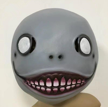 Load image into Gallery viewer, Cos Hot Game NieR: Automata helmet Cosplay Emil  Helmet 1:1 Latex Halloween Party