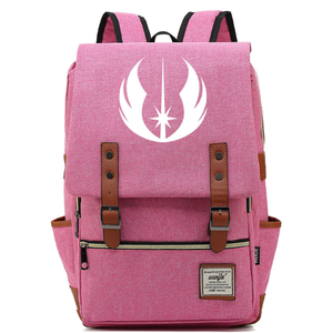 Movie Star Wars Jedi Knight Cosplay casual backpack