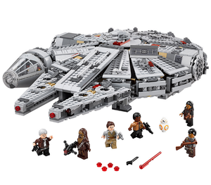 Star Wars Millennium  Warship Falcon Figure Set DIY building blocks Toys
