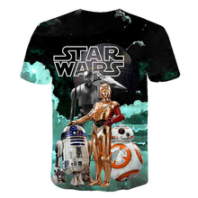 Load image into Gallery viewer, Star Wars Cosplay short-sleeved T-shirt