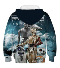 Load image into Gallery viewer, Movie Star Wars children's Costume Cosplay Hoodies
