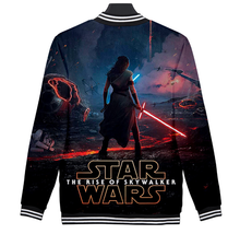 Load image into Gallery viewer, Movie Star Wars Skywalker rises Cosplay baseball uniform Coat