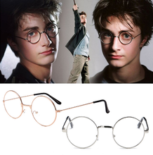 Load image into Gallery viewer, Harry Potter Vintage Round Frame Glasses Cosplay Prop