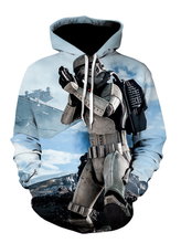Load image into Gallery viewer, Star Wars Mandalorian Cosplay Hoodie Costume