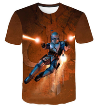 Load image into Gallery viewer, Star War 3D printing HD mesh ventilate Prevent bask in T-shirt