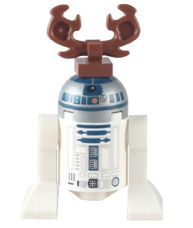 Movie Star Wars R2D2 Robot Assembly toy
