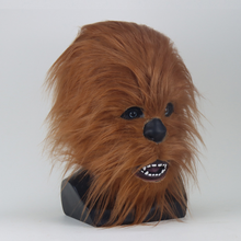 Load image into Gallery viewer, Star War Chewbacca Latex Helmet Cosplay Halloween Carnival Party Props