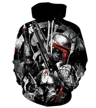 Load image into Gallery viewer, Movie Star War Hoodie 3D Print Cool Design Cosplay Costume