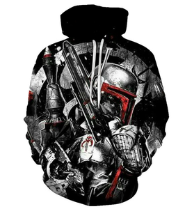 Movie Star War Hoodie 3D Print Cool Design Cosplay Costume