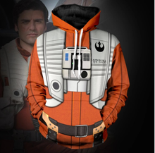 Load image into Gallery viewer, Star War Cosplay Hoodie 3D Printed Sweatshirt