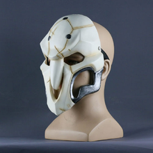 Load image into Gallery viewer, Over watch Game Cosplay Reaper Helmet Halloween Reaper Party Prop