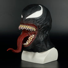 Load image into Gallery viewer, Spider-Man The Venom helmet Cosplay Spider Man Edward Brock Dark Superhero Venom Latex helmet Helmet Halloween Party Props