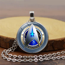 Load image into Gallery viewer, Star Trek Time Gem Pendant Necklace