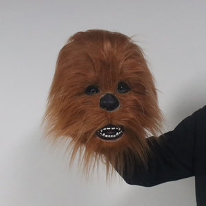 Star War Chewbacca Latex Helmet Cosplay Halloween Carnival Party Props