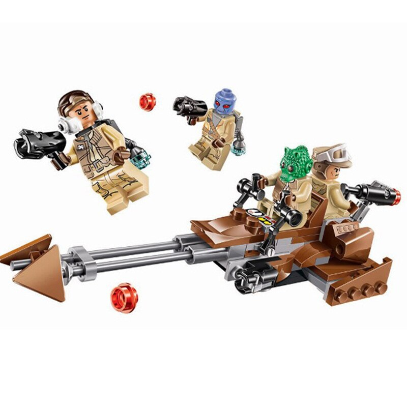 Star Wars series of rebel cavalry Children's puzzle building blocks toys