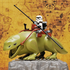 Star Wars Wet-backed beast White Soldier Darth Vader block toy