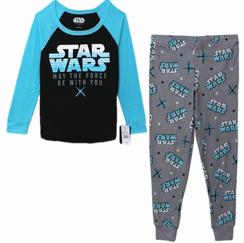Movie Star Wars Cotton Pajamas + pajama pants  leisure suit Cosplay Costumes