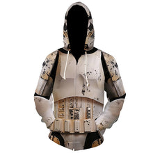 Load image into Gallery viewer, Star Wars Imperial Stormtrooper Hoodie The Rise Of Skywalker Clone Cosplay Costume