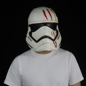 Star Wars Imperial Stormtrooper  Cosplay Halloween Latex Helmet Props