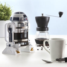 Load image into Gallery viewer, Star Wars R2D2 robot sculpt  Hand made coffee machine