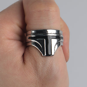 Star Wars The Mandalorian Ring  Yoda Cosplay Costume Props Accessories Alloy Zine Metal